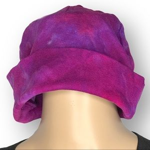 Hand dyed youth/ladies cotton hat